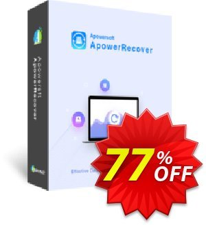 ApowerRecover Yearly discount coupon ApowerRecover Personal License (Yearly Subscription) wonderful promo code 2020 - awesome discount code of ApowerRecover Personal License (Yearly Subscription) 2020