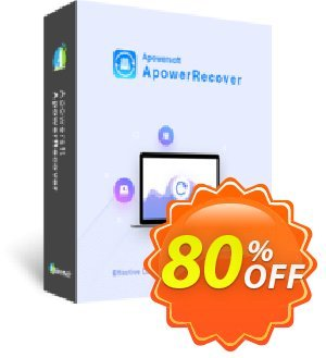 Get ApowerRecover Lifetime 80% OFF coupon code