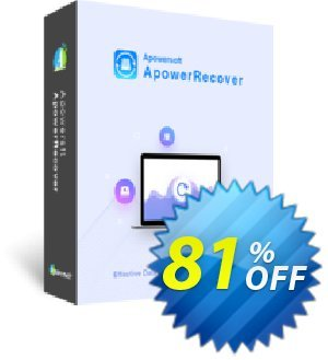 ApowerRecover Business Lifetime Coupon, discount ApowerRecover Commercial License (Lifetime Subscription) staggering sales code 2019. Promotion: stunning promotions code of ApowerRecover Commercial License (Lifetime Subscription) 2019
