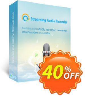 Streaming Audio Recorder Family License (Lifetime) Coupon discount Streaming Audio Recorder Family License (Lifetime) Amazing deals code 2020. Promotion: Amazing deals code of Streaming Audio Recorder Family License (Lifetime) 2020