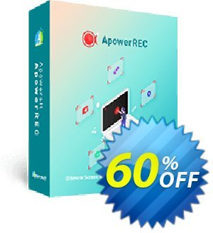 ApowerREC Yearly Coupon, discount ApowerREC Personal License (Yearly Subscription) imposing deals code 2019. Promotion: stunning promotions code of ApowerREC Personal License (Yearly Subscription) 2019