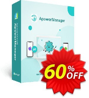 ApowerManager Yearly Coupon, discount ApowerManager Personal License (Yearly Subscription) wondrous sales code 2019. Promotion: excellent discounts code of ApowerManager Personal License (Yearly Subscription) 2019