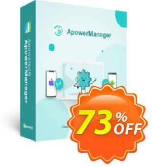 ApowerManager Lifetime discount coupon ApowerManager Personal License (Lifetime Subscription) awful deals code 2020 - marvelous promotions code of ApowerManager Personal License (Lifetime Subscription) 2020