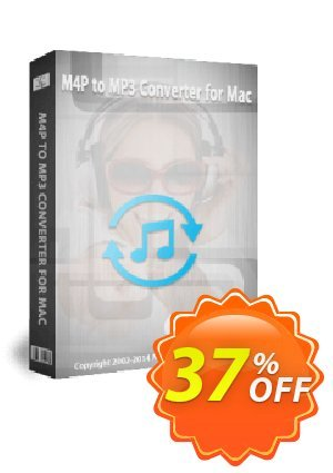 M4P to MP3 Converter for Mac 촉진  Audio Converter Pro, M4P Converter, M4P to MP3 coupon (18081
