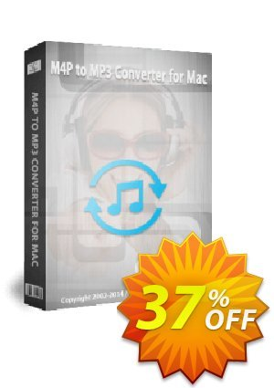 M4P Converter for Mac Coupon, discount Audio Converter Pro, M4P Converter, M4P to MP3 coupon (18081. Promotion: M4P to MP3 Converter for Mac discount (18081) Regnow: IVS-PAWG-PDII