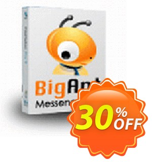 BigAntIM 100 user license (Update) Coupon, discount up to 20 user license. Promotion: