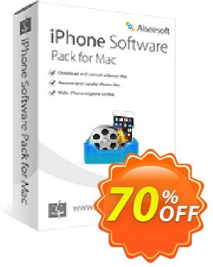 Aiseesoft iPhone Software Pack for Mac Coupon, discount 40% Aiseesoft. Promotion: 40% Off for All Products of Aiseesoft