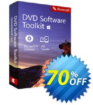 Aiseesoft DVD Software Toolkit Coupon, discount 40% Aiseesoft. Promotion: 40% Off for All Products of Aiseesoft