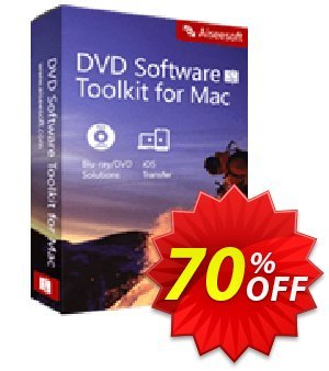 Aiseesoft DVD Software Toolkit for Mac Lifetime Coupon, discount 40% Aiseesoft. Promotion: 40% Off for All Products of Aiseesoft