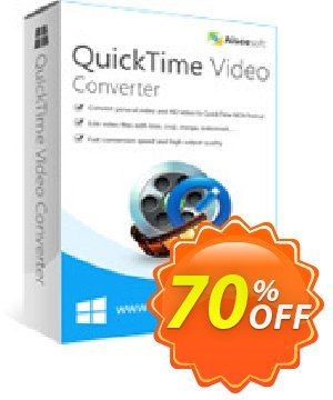 Aiseesoft QuickTime Video Converter Coupon, discount 40% Aiseesoft. Promotion: 40% Off for All Products of Aiseesoft