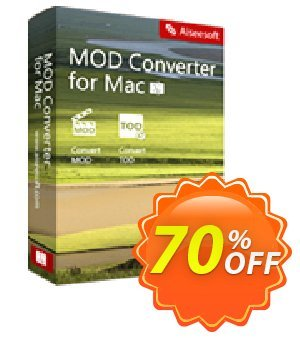 Aiseesoft MOD Converter for Mac Coupon discount 50% Aiseesoft. Promotion: 50% Off for All Products of Aiseesoft