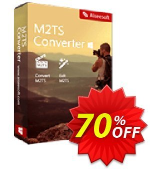 Aiseesoft M2TS Converter Coupon, discount Aiseesoft M2TS Converter imposing offer code 2020. Promotion: 40% Off for All Products of Aiseesoft