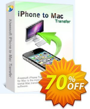 Aiseesoft iPhone to Mac Transfer Coupon, discount 40% Aiseesoft. Promotion: