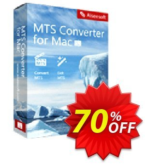 Aiseesoft MTS Converter for Mac 優惠券,折扣碼 50% Aiseesoft,促銷代碼: 50% Off for All Products of Aiseesoft