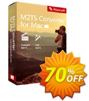 Aiseesoft M2TS Converter for Mac Coupon discount 40% Aiseesoft. Promotion: 40% Off for All Products of Aiseesoft
