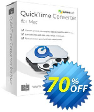 Aiseesoft QuickTime Converter for Mac 優惠券,折扣碼 40% Aiseesoft,促銷代碼: 40% Off for All Products of Aiseesoft