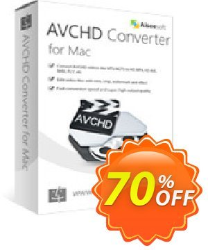 Aiseesoft AVCHD Converter for Mac discount coupon 50% Aiseesoft - 50% Off for All Products of Aiseesoft