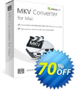 Aiseesoft MKV Converter for Mac discount coupon 40% Aiseesoft - 40% Off for All Products of Aiseesoft