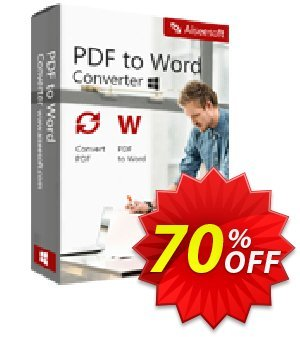Aiseesoft PDF to Word Converter discount coupon 40% Aiseesoft - 40% Off for All Products of Aiseesoft