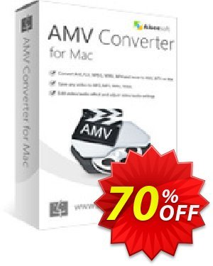 Aiseesoft AMV Converter for Mac Coupon, discount 40% Aiseesoft. Promotion: 40% Off for All Products of Aiseesoft