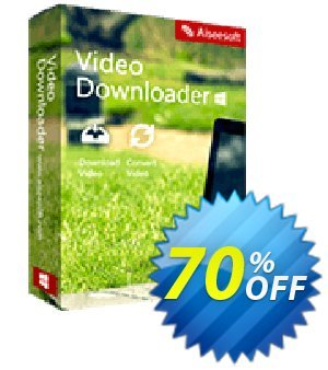 Aiseesoft Video Downloader discount coupon 40% Aiseesoft - 40% Off for All Products of Aiseesoft