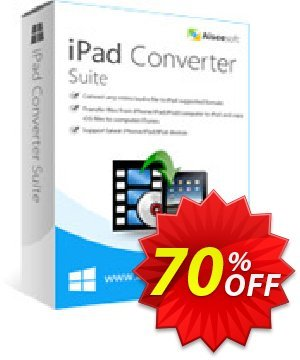 Aiseesoft iPad Converter Suite discount coupon 40% Aiseesoft - 40% Off for All Products of Aiseesoft