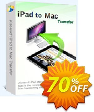 Aiseesoft iPad to Mac Transfer Coupon, discount 40% Aiseesoft. Promotion: