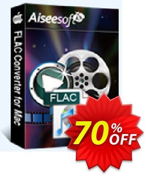 Aiseesoft FLAC Converter for Mac Coupon, discount . Promotion: 40% Off for All Products of Aiseesoft