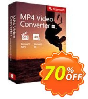 Aiseesoft MP4 Video Converter discount coupon Aiseesoft MP4 Video Converter hottest sales code 2020 - 40% Off for All Products of Aiseesoft