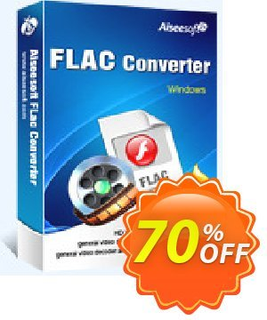 Aiseesoft FLAC Converter Coupon, discount . Promotion: 40% Off for All Products of Aiseesoft