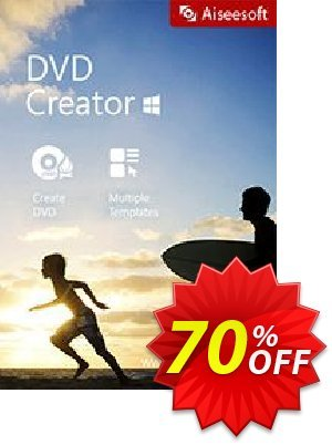Aiseesoft DVD Creator Coupon, discount 40% Aiseesoft. Promotion: 40% Off for All Products of Aiseesoft