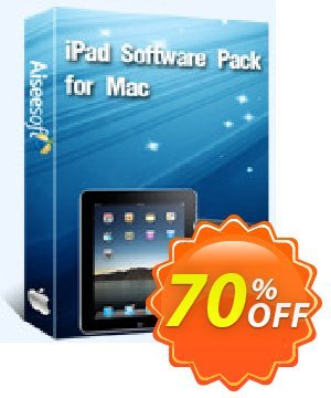 Aiseesoft iPad Software Pack for Mac Coupon discount Aiseesoft iPad Software Pack for Mac best promo code 2020. Promotion: 40% Off for All Products of Aiseesoft