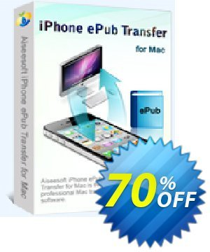 Aiseesoft iPhone ePub Transfer for Mac Coupon discount 40% Aiseesoft -