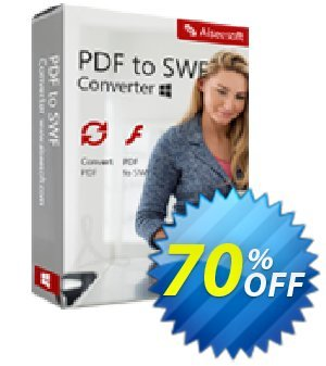 Aiseesoft PDF to SWF Converter Coupon, discount 40% Aiseesoft. Promotion: 40% Off for All Products of Aiseesoft