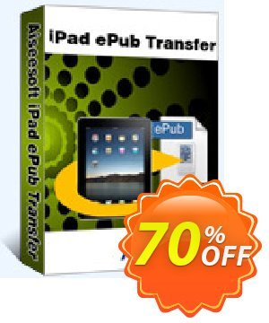 Aiseesoft iPad ePub Transfer Coupon, discount 40% Aiseesoft. Promotion: