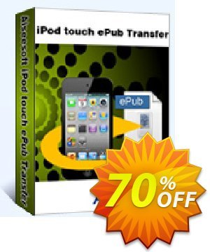 Aiseesoft iPod touch ePub Transfer Coupon, discount 40% Aiseesoft. Promotion: