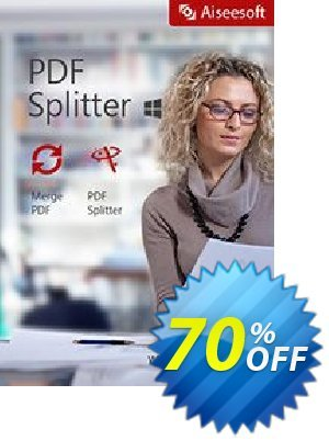 Aiseesoft PDF Splitter Coupon discount Aiseesoft PDF Splitter best deals code 2020. Promotion: 40% Off for All Products of Aiseesoft