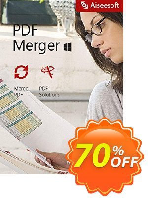 Aiseesoft PDF Merger Coupon, discount 40% Aiseesoft. Promotion: 40% Off for All Products of Aiseesoft