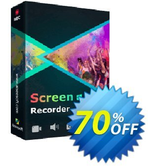 Aiseesoft Screen Recorder Lifetime Coupon, discount Aiseesoft Screen Recorder - Lifetime/3 PCs Super offer code 2021. Promotion: Super offer code of Aiseesoft Screen Recorder - Lifetime/3 PCs 2021