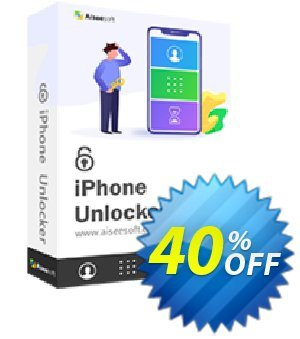 Aiseesoft iPhone Unlocker - 1 Year/3 iOS Devices discount coupon Aiseesoft iPhone Unlocker - 1 Year/3 iOS Devices Amazing discounts code 2020 - Amazing discounts code of Aiseesoft iPhone Unlocker - 1 Year/3 iOS Devices 2020