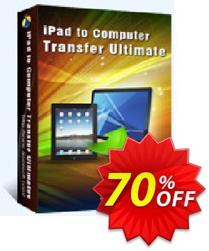 Aiseesoft iPad to Computer Transfer Ultimate Coupon, discount 40% Aiseesoft. Promotion: