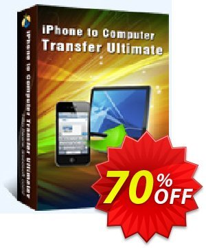 Aiseesoft iPhone to Computer Transfer Ultimate Coupon, discount 40% Aiseesoft. Promotion: