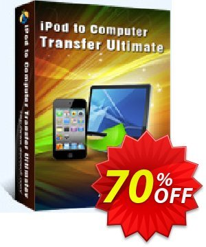 Aiseesoft iPod to Computer Transfer Ultimate Coupon, discount 40% Aiseesoft. Promotion: