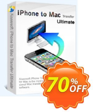 Aiseesoft iPhone to Mac Transfer Ultimate Coupon, discount 40% Aiseesoft. Promotion: