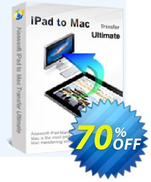 Aiseesoft iPad to Mac Transfer Ultimate Coupon, discount 40% Aiseesoft. Promotion: