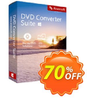 Aiseesoft DVD Converter Suite Coupon discount 40% Aiseesoft. Promotion: