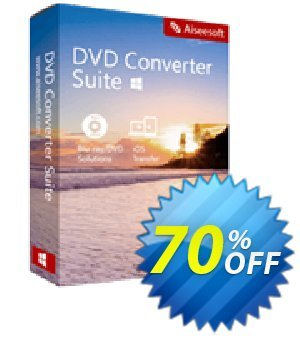 Aiseesoft DVD Converter Suite Coupon, discount 40% Aiseesoft. Promotion:
