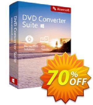 Aiseesoft DVD Converter Suite 프로모션 코드 40% Aiseesoft 프로모션: