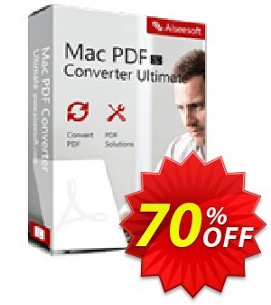 Aiseesoft Mac PDF Converter Ultimate Coupon, discount 40% Aiseesoft. Promotion: 40% Off for All Products of Aiseesoft
