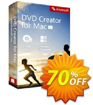 Aiseesoft DVD Creator for Mac Coupon discount 40% Aiseesoft. Promotion: 40% Off for All Products of Aiseesoft